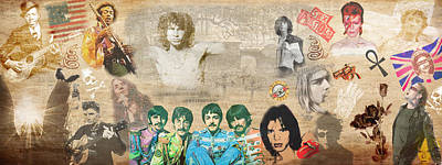 Brief History Of Rock'n'roll Poster