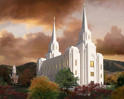Brigham City Temple #1 Poster