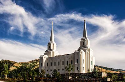 Brigham City Temple Nw Poster