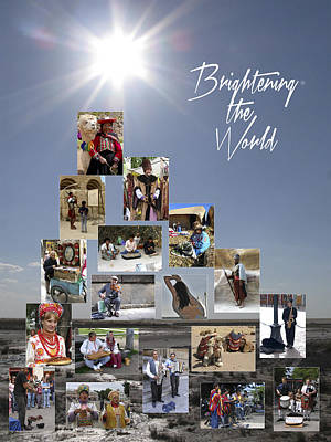 Brightening The World Poster