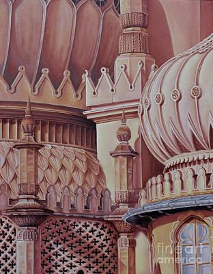 Brighton Palace Poster by Pauline Sharp