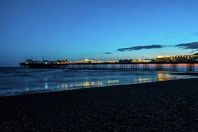Brighton Pier At Sunset Ix Poster