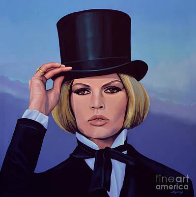 Brigitte Bardot Painting 2 Poster