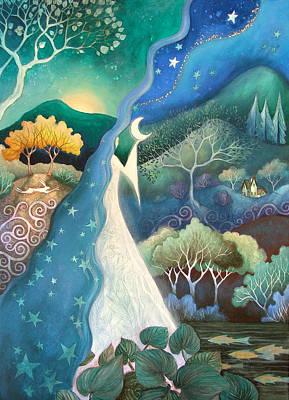 Bringer Of Night Poster by Amanda Clark