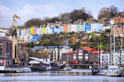 Bristol - England Poster by Joana Kruse