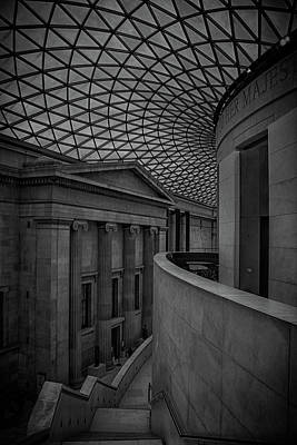 British Museum Poster by Martin Newman