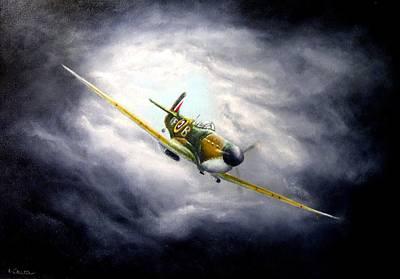 British Spitfire Mk. 1a Poster