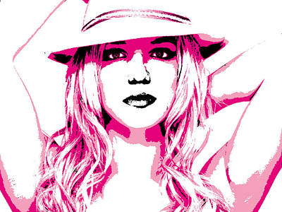 Britney Spears Poster by Brad Scott