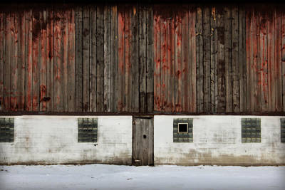 Poster featuring the photograph Broad Side Of A Barn by Julie Hamilton