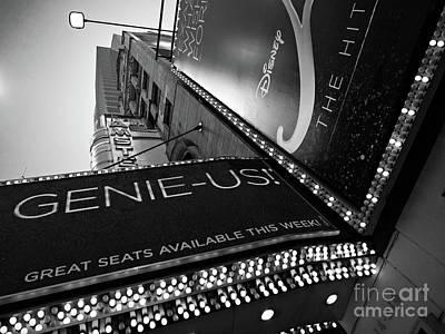 Broadway  -27868-bw Poster