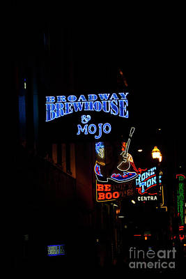 Broadway Brewhouse Poster by David Bearden