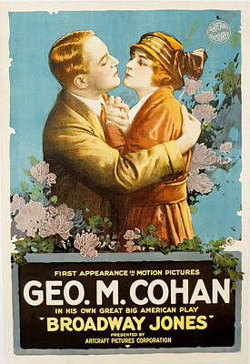 Broadway Jones, George M. Cohan Poster by Everett