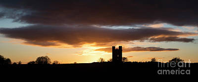 Broadway Tower At Sunset Poster