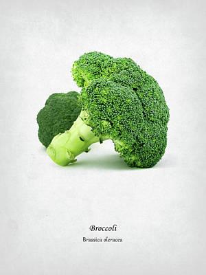Broccoli Poster by Mark Rogan