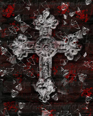Broken Faith Poster by Shelly Stallings