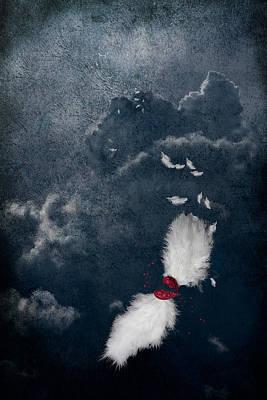 Broken Poster by Maggie Terlecki