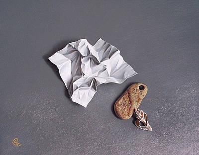 Broken Promise - 1 Poster by Elena Kolotusha