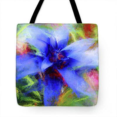 Bromeliad Lavender Blue - Tote Poster