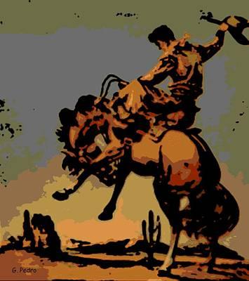 Bronc Rider Poster