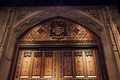 Bronze Doors Of St. Patrick's Poster by Jessica Jenney