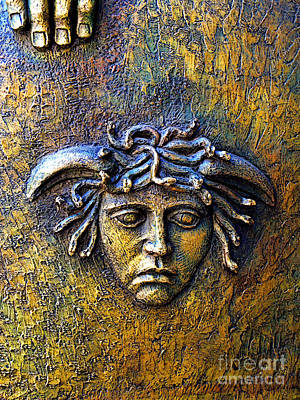 Bronze Medusa Poster by Mexicolors Art Photography