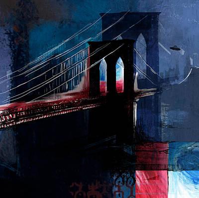 Brooklyn 199 4 Poster by Mawra Tahreem