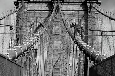 Poster featuring the photograph Brooklyn Bridge by Emmanuel Panagiotakis