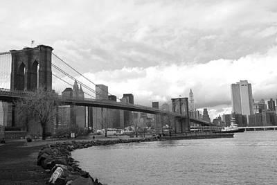Brooklyn Bridge II Poster by Chuck Kuhn
