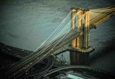 Brooklyn Bridge Poster by Kellice Swaggerty
