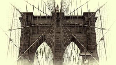 Brooklyn Dreams Poster by Stephen Stookey