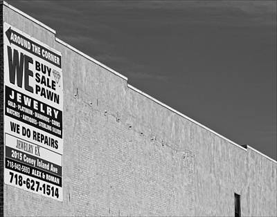 Brooklyn Pawnshop Sign Poster