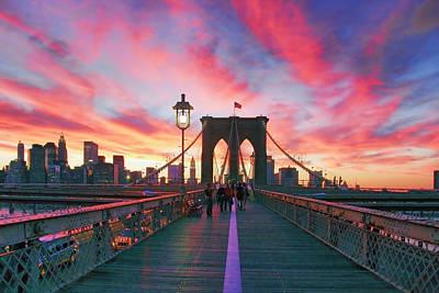 Brooklyn Sunset Poster