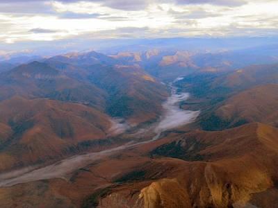 Brooks Range At 4000 Feet Poster by Adam Owen