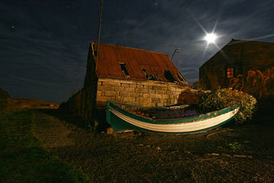 Brora Boat House Poster