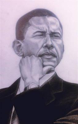 Brotha President Poster by Malik Seneferu