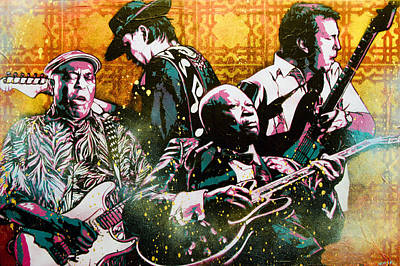 Brothers In Blues Poster