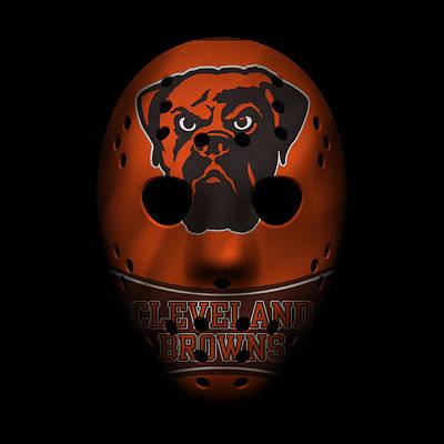 Browns War Mask 4 Poster