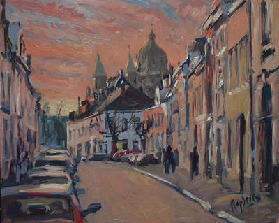 Brusselsestraat Maastricht Poster