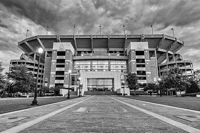 Bryant - Denny Stadium -- Walk Of Champions Poster by Stephen Stookey