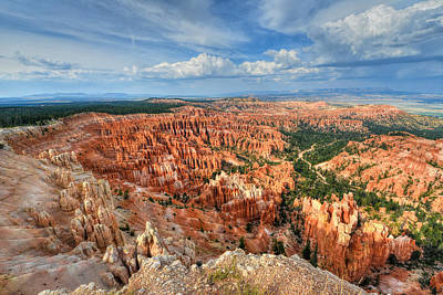 Bryce Canyon Poster by Mark Whitt