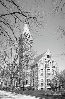 Bryn Mawr College Taylor Hall Poster by University Icons