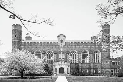 Bryn Mawr College Thomas Library Poster by University Icons