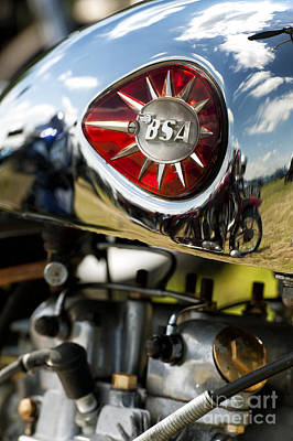Bsa Royal Star  Poster by Tim Gainey
