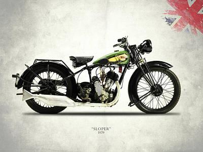 Bsa S29 1929 Poster by Mark Rogan