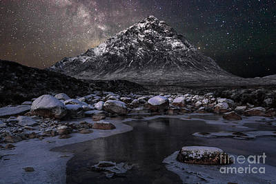 Buachaille And The Milkyway Poster by John Farnan