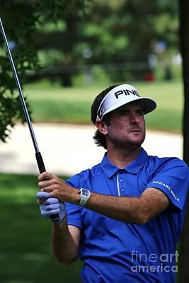 Golfer Bubba Watson Poster