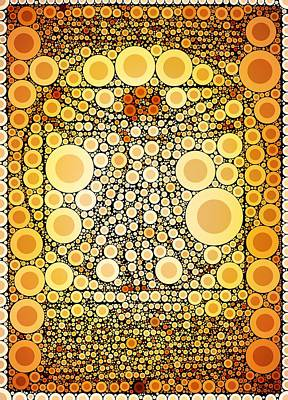 Bubble Art Da Vinci Poster by John Springfield