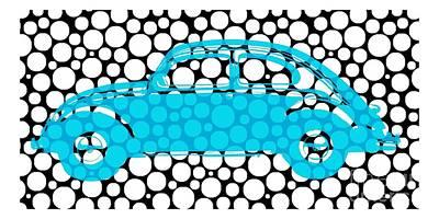 Bubble Car Vw Beetle Poster by Edward Fielding