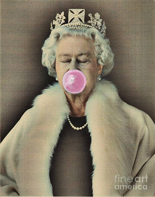 Bubble Gum Queen Poster