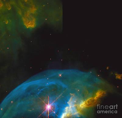 Bubble Nebula Poster